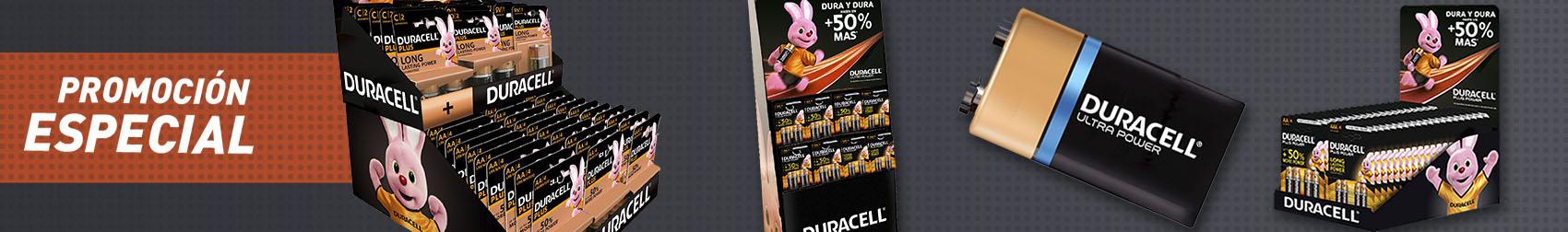 Oferta especial Duracell