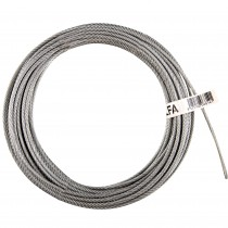 CABLE ACERO GALV.DIN3055 6x7+1  5mm.15m.