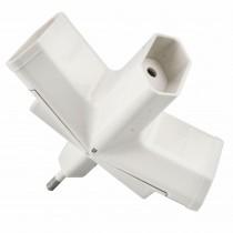 ADAPTADOR ONLEX 10 A.  4 mm. 3 TOMAS