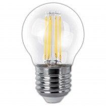 BOMB.LED FILAMENT.ESFER.CLARA E27 4w.CA