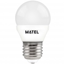 BOMB.LED ESFERICA  E27 7w.NEUTRA