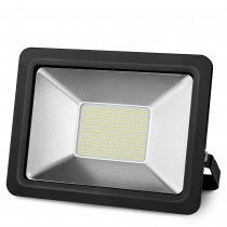 PROYECTOR LED NEGRO 100w.FRIA