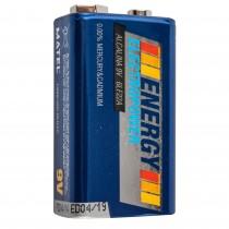 PILA ENERGY ALCALINA  6F22-9V BL.1u.