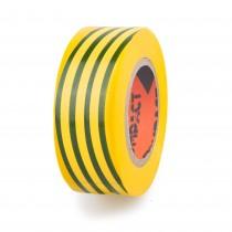 CINTA AISLANTE PVC 10x19 COMPACT BICOLOR