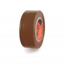 CINTA AISLANTE PVC 20x25 COMPACT MARRON