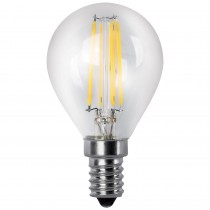 BOMB.LED FILAMENT.ESFER.CLARA E14 2w.FR