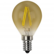 BOMB.LED FILAMENT.ESFER.VINTAGE E14 4w.