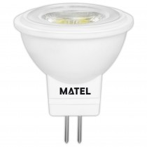 BOMB.LED DICROICA  36º MR11 G4 3w.NEUTRA