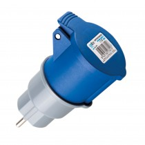 ADAPTADOR INDUSTRIAL IP44 M2P+BASE2P+T