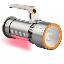 LINTERNA LED COCHE METAL.RECARGABLE 10W