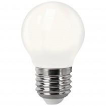 BOMB.LED FILAM. G 45 E27   4W OPAL FRIA