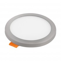 DOWNLIGHT LED AJUSTABLE RED.GRIS  6w.F