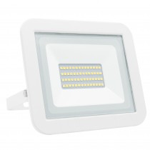 PROYECTOR LED PLANO BLANCO   30w.FRIA