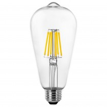 BOMB.LED FILAMENT.PERA E27 8w.CALIDA