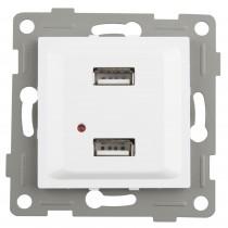 S-EMPOT.ONLEX BLANCA DOBLE USB