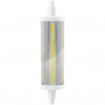 BOMB.LED R7s 180º 29x118mm. 16w.CALIDA