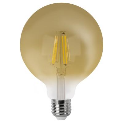 BOMB.LED FILAMENT.G95 VINTAGE E27 6w.