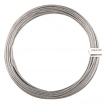 CABLE ACERO GALV.DIN3055 6x7+1  2mm.15m.