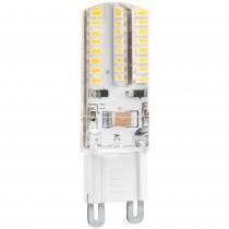 BOMB.LED SILICONA G9 3w. 230v. FRIA