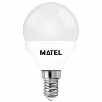 BOMB.LED ESFERICA  E14 6w.NEUTRA
