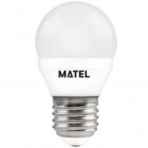 BOMB.LED ESFERICA  E27 7w.NEUTRA