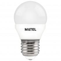 BOMB.LED ESFERICA  E27 5w.RGB.