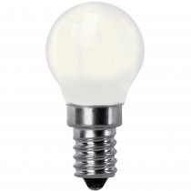 BOMB.LED FILAMENT.ESFER.OPAL E14 2w.CA