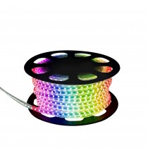 TIRA LED 230V IP68 SMD5050 25MTS.RGB