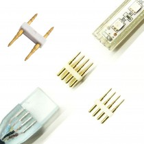 CONECTADOR TIRA LED 2PINS 230V.