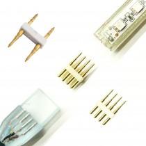 CONECTADOR TIRA LED 4PINS 230V.RGB