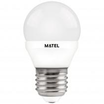 BOMB.LED ESFERICA  REGULABLE E27 7w.NEUT