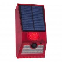 ALARMA SOLAR 129DB Y LUZ LED 3W IP55