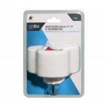 BL.ADAPTADOR ONLEX 4,8mm.T/T 2T C/INTER.