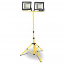 PROYECTOR LED TRIPODE 5mt.2x70w.FRIA