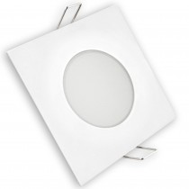 ARO LED FIJO IP65 CUADRADO BLANCO 5w.FRI