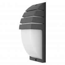 APLIQUE LED LUXE VERTICAL GRIS IP54 10W NEUTRA