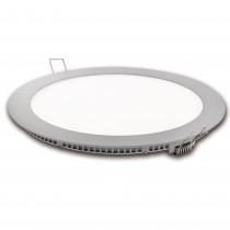 DOWNLIGHT LED CORTE 185mm.PLATA 18w.NEU