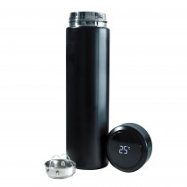 TERMO LÍQUIDOS DIGITAL INOX 500ML NEGRO