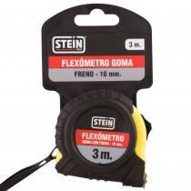 FLEXOMETRO STEIN F/GOMA FRENO 3m.16mm.BL