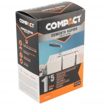 CEMENTO RAPIDO 1,5 kg. COMPACT