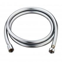 FLEXO DUCHA PVC LUXE CROMADO 1.8mts.