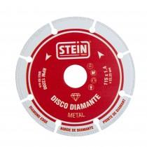 DISCO DIAMANTE SEGMENTADO P/METAL 115 MM