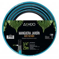 MANGUERA JARDÍN ATS/ ANTITORSIÓN. 3/4 25M