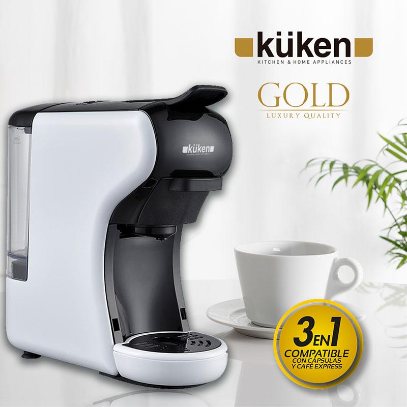 Cafetera 3 en 1 küken Gold